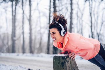 Fitness takes focus