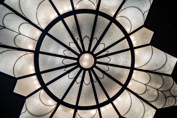 Closeup of a Decorative Ceiling Light