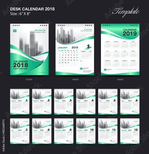 X Files Calendar : Quot set green desk calendar year size inch