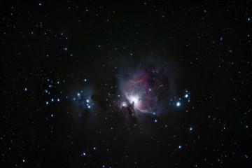 M42 Orion Nebula & M43 Running Man Nebula