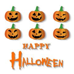 Happy Halloween. Vector Illustration, Halloween Background