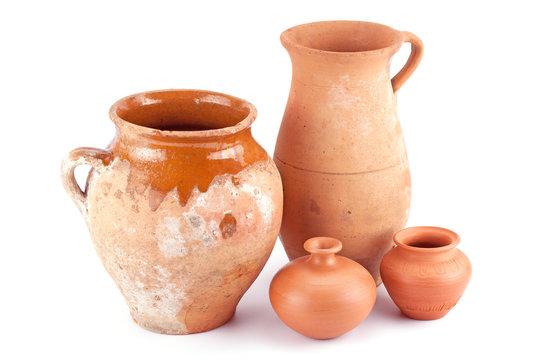 clay jug handmade