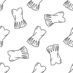 Ballet seamless pattern in vector