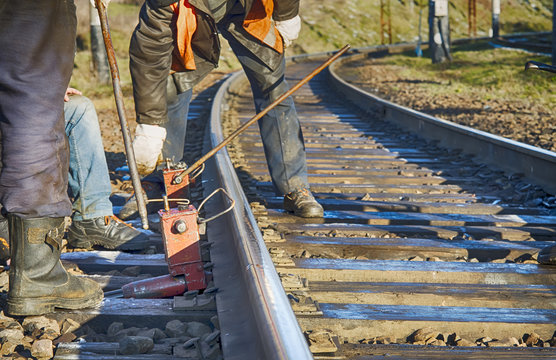 repairing railway