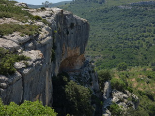 Tirig. Pinturas rupestres, Cueva de los Caballos y  Cuevas del Civil. Patrimonio de la Humanidad por la UNESCO en Barranco Valltorta,Castellón, (Comunidad Valenciana, España)