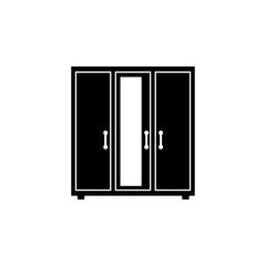 wardrobe furniture icon