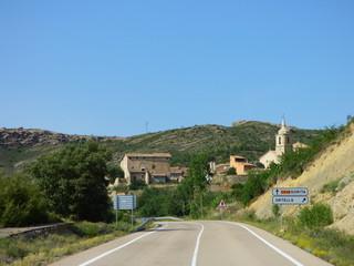 Ortells,pueblo de Morella  en la provincia de Castellón en la Comunidad valenciana, España. Situado en la comarca de los Puertos de Morella