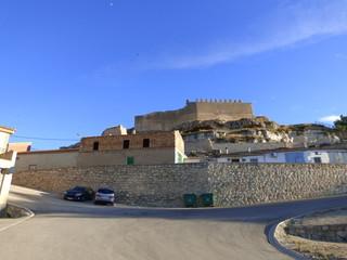 Jorquera. Pueblo de Albacete en la comunidad autónoma de Castilla La Mancha ( España) situado en un enclave natural de extraordinaria belleza