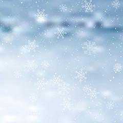 Merry Christmas vector design. Winter background