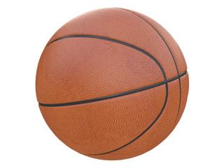 basketball ball textured 3d rendering