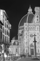 Wall Mural - Cathedral Santa Maria del Fiore in Florence, Tuscany, Italy