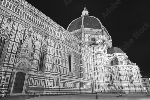 Fototapete Cathedral Santa Maria del Fiore in Florence, Tuscany, Italy