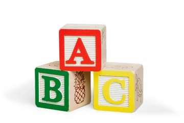 ABC Blocks Isolated