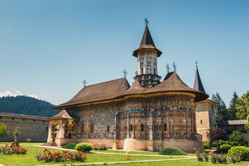 Fototapeta The Sucevita Monastery is a Romanian Orthodox monastery situated in the commune of Sucevitai, Romania