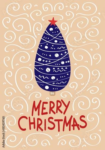 Mery christmas poster\