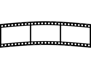 Filmstreifen Rund