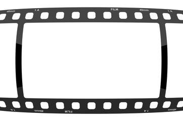 Filmstreifen Gewölbt Glänzend
