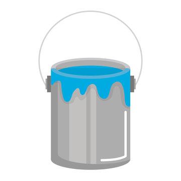 paint pot isolated icon vector illustration design