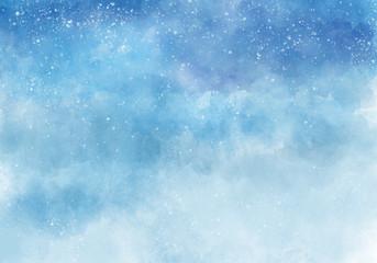 Watercolor background. Digital art illustration