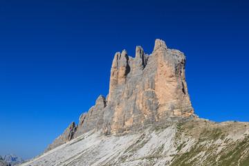 tre cime di Lavaredo, parete sud - Dolomiti