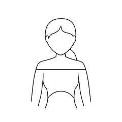 avatar woman icon image