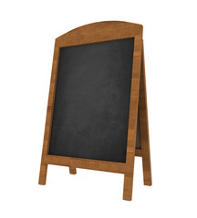 Sidewalk Chalkboard Isolated