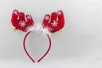 cerchietto renna natalizia