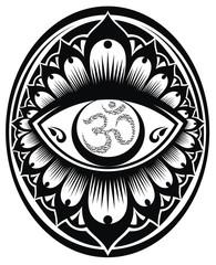 OM decorative symbol