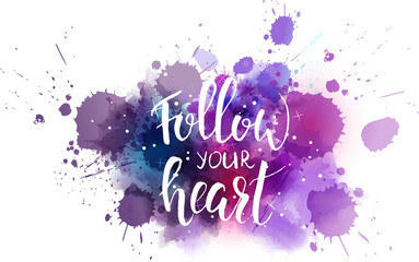 Follow your heart background