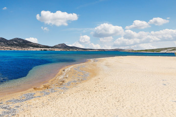 Vathis Volos beach of Antiparos, Greece