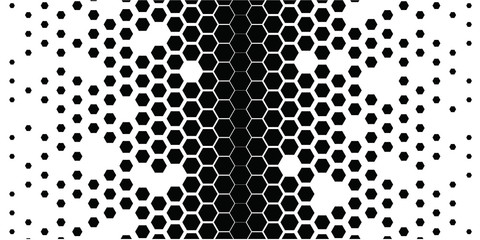 black_hexagons_on_white_2