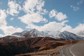 Road through the mountains, Georgia