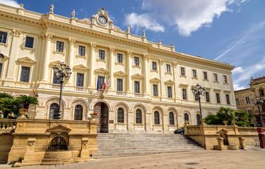 Regierungsstelle Sassari Sardinien Gebäude