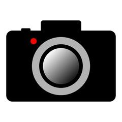 DIGITAL CAMERA icon. Vector.