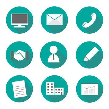 Icon-Set Business Premium