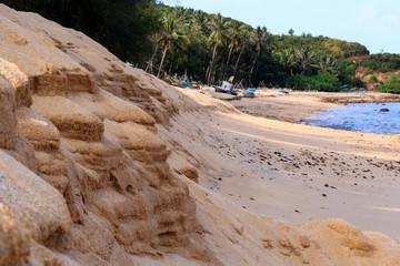 Beautiful of Bai Rang beach in Qui Nhon city,  Vietnam