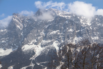 Zugspitze - highest mountain in Germany