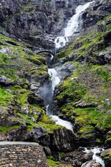 mountain route of Trollstigen