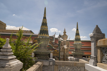 Courtyard at Royal Palace, Bangkok, Thailand