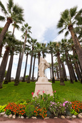 Monument to Jeanne D'Arc in Cannes..