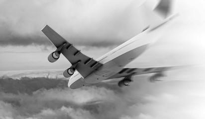 Crash in the air