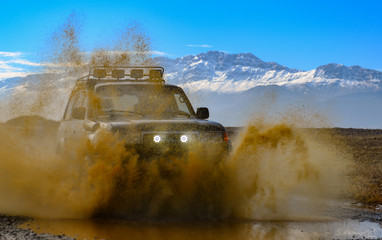 offroad excitement with off-road vehicle