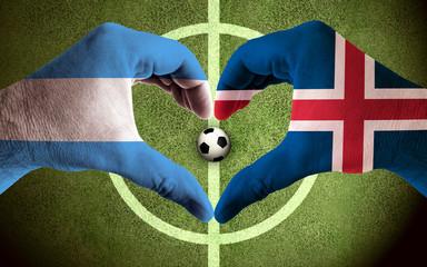 Argentina vs Island