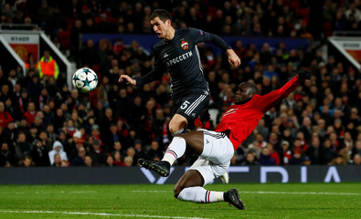 Champions League - Manchester United vs CSKA Moscow