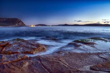 Dawn Seascape from Rock Platform
