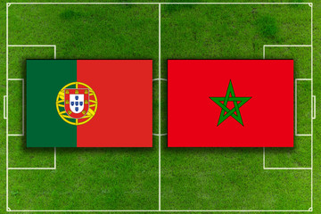 Portugal gegen Marokko