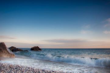 Black Sea seascape (Crimea Ukraine)