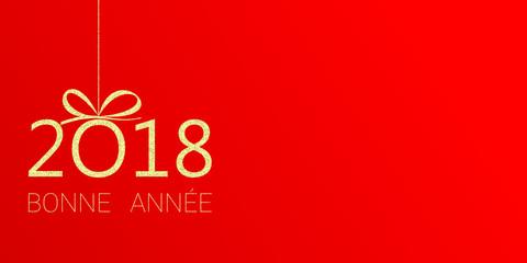2018 - Bonne année - happy new year