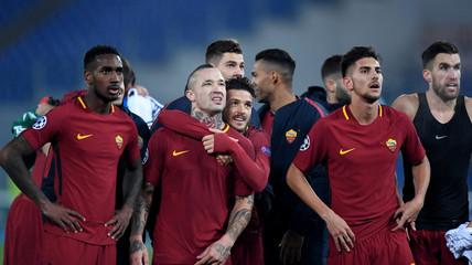 Champions League - Roma vs Qarabag