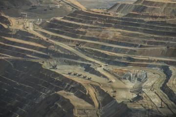 View of Bingham Canyon Mine